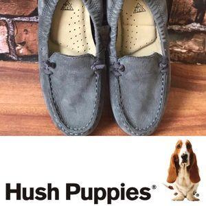 Hush Puppies Like New Gray Blue HPO2 Moyen Loafers